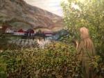 """""""Huldra i Hålandsdalen"""" Malt av: Øyvind Matre"""