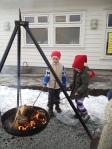 Nisseluer og åpen ild