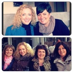 Fantastisk møte med flotte damer på Twitterlunsj.