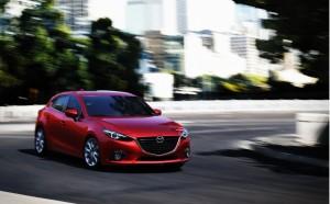 Mazdaen er tøffere. Tåler både kolonne og tilhengerkjøring. Foto: Mazda Norge