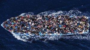 Flykninger i Middelhavet. (heltnormalt.no)