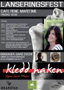 18.september i haugesund og 2.oktober i Øystese er det lanseringsfester for boken. Du er hjertelig velkommen.