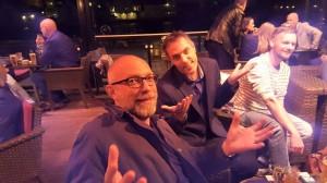 Geir arrangerte lanseringsfest for meg 18.september og hentet inn selveste Gard Sveen.